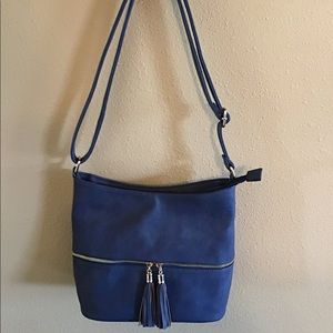Handbags - Blue shoulder purse